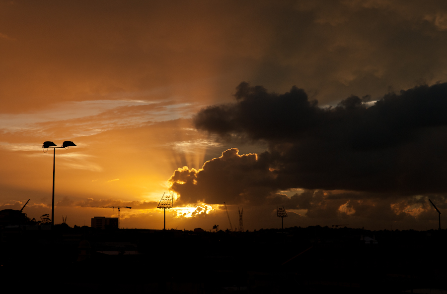 Sunrise on the 21st of March 2012