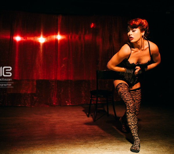 Brisbanes Burlesque shows put together & hosted by Pent Upglamour